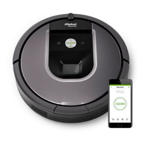 Roomba 960 a robotic vacuum cleaner